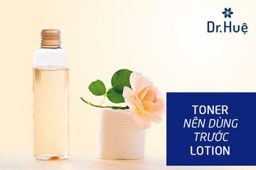 Lotion là gì Toner là gì, có gì khác nhau, cái nào dùng trước và những điều cần biết