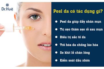 Peel da thay da sinh học là gì - Tác dụng - bao nhiêu tiền - Ở đâu an toàn?
