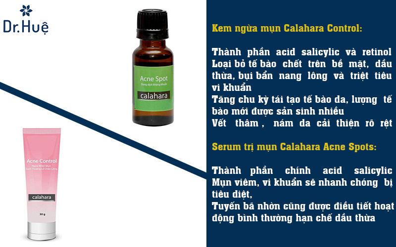 Kem trị mụn - serum trị mụn cho da dầu mụn