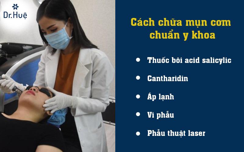 Cách chữa mụn cơm chuẩn y khoa