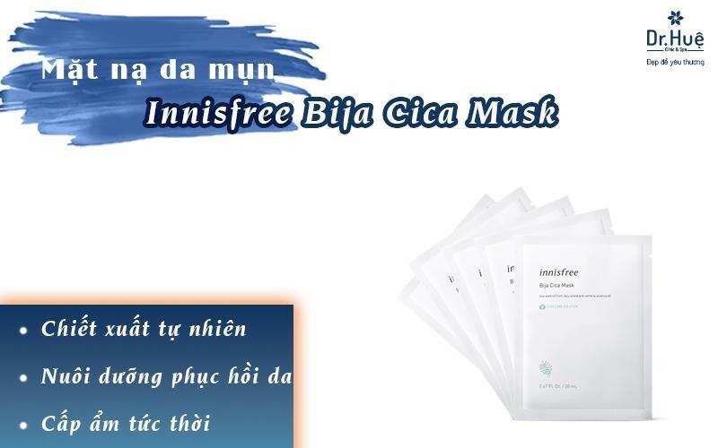 Mặt nạ trị mụn Innisfree Bija Cica