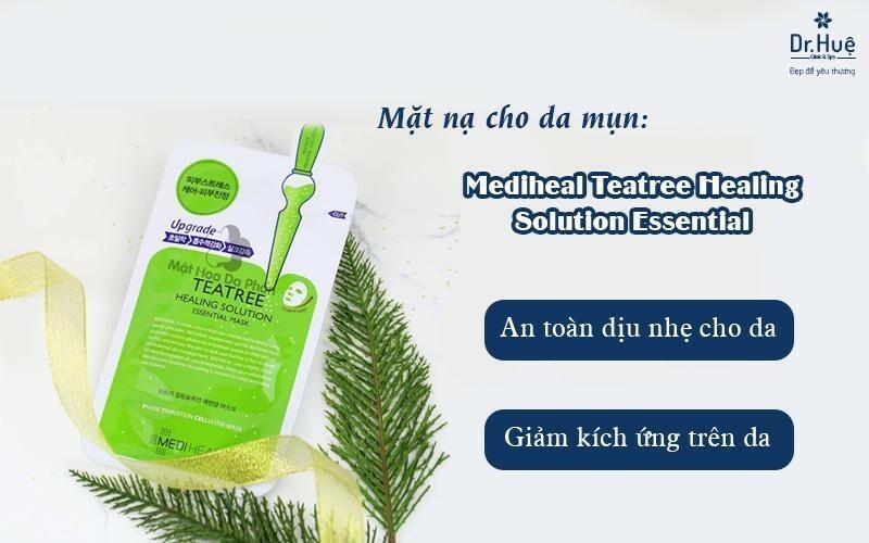 Mặt nạ cho da mụn Mediheal Teatree Healing Solution Essential