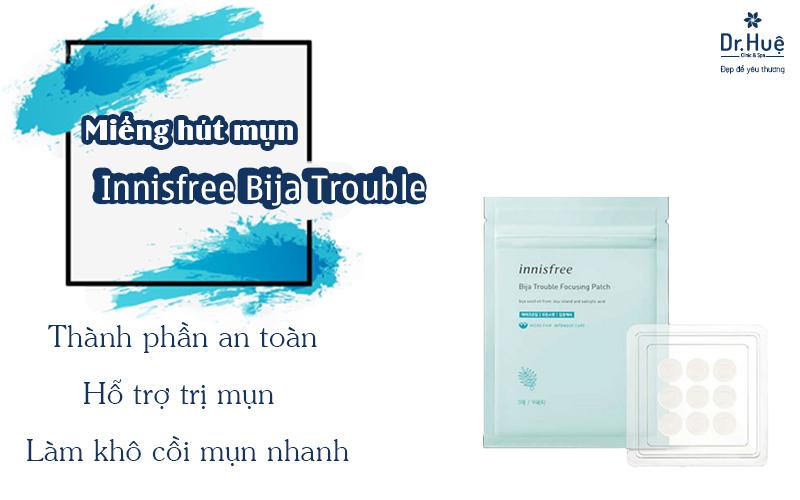 Miếng hút mụn Innisfree Bija Trouble Focusing Patch