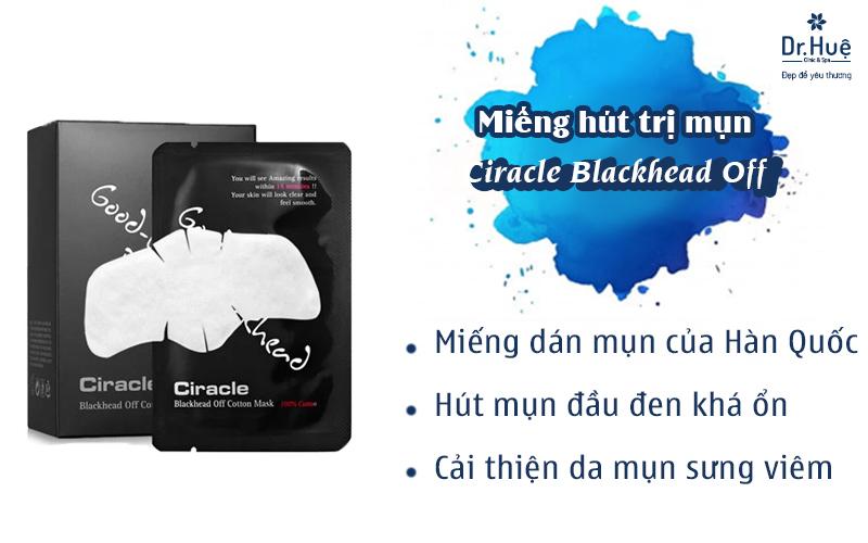 Miếng hút trị mụn Ciracle Blackhead Off Cotton