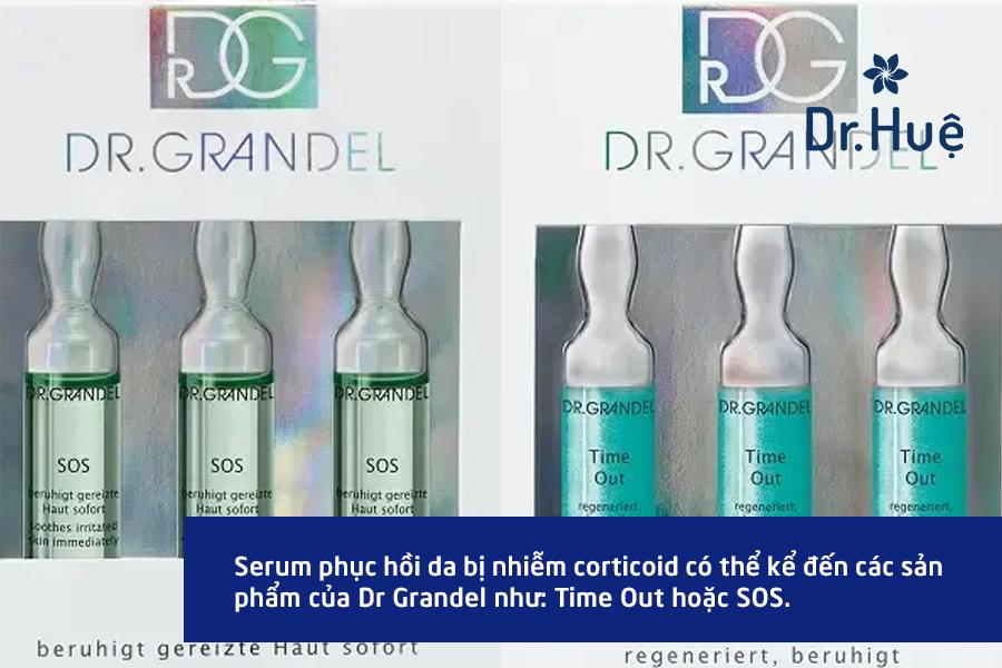 Một số loại serum giúp phục hồi làn da hư tổn do nhiễm corticoid