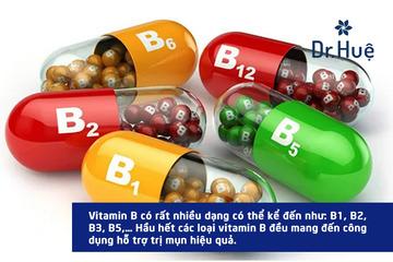 [Tư Vấn] Da mụn nên uống Vitamin gì để hết mụn