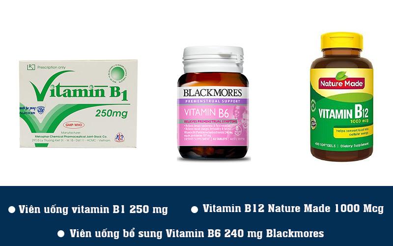 3 sản phẩm bổ sung vitamin B