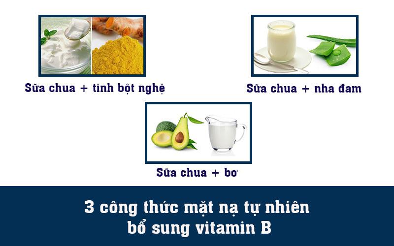 3 công thức mặt nạ tự nhiên bổ sung vitamin B