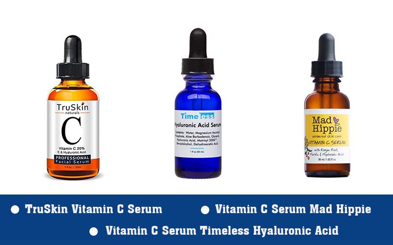 Sản phẩm chứa vitamin C trị mụn