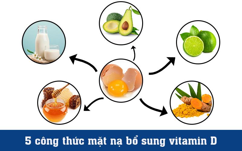 5 công thức bổ sung vitamin D bên ngoài da