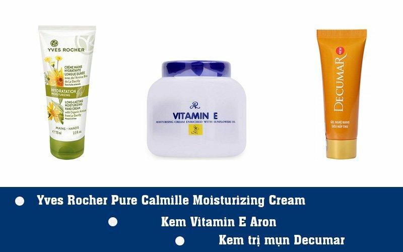 3 sản phẩm dưỡng da chứa vitamin E
