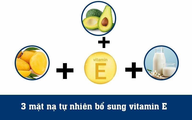 3 mặt nạ tự nhiên bổ sung vitamin E